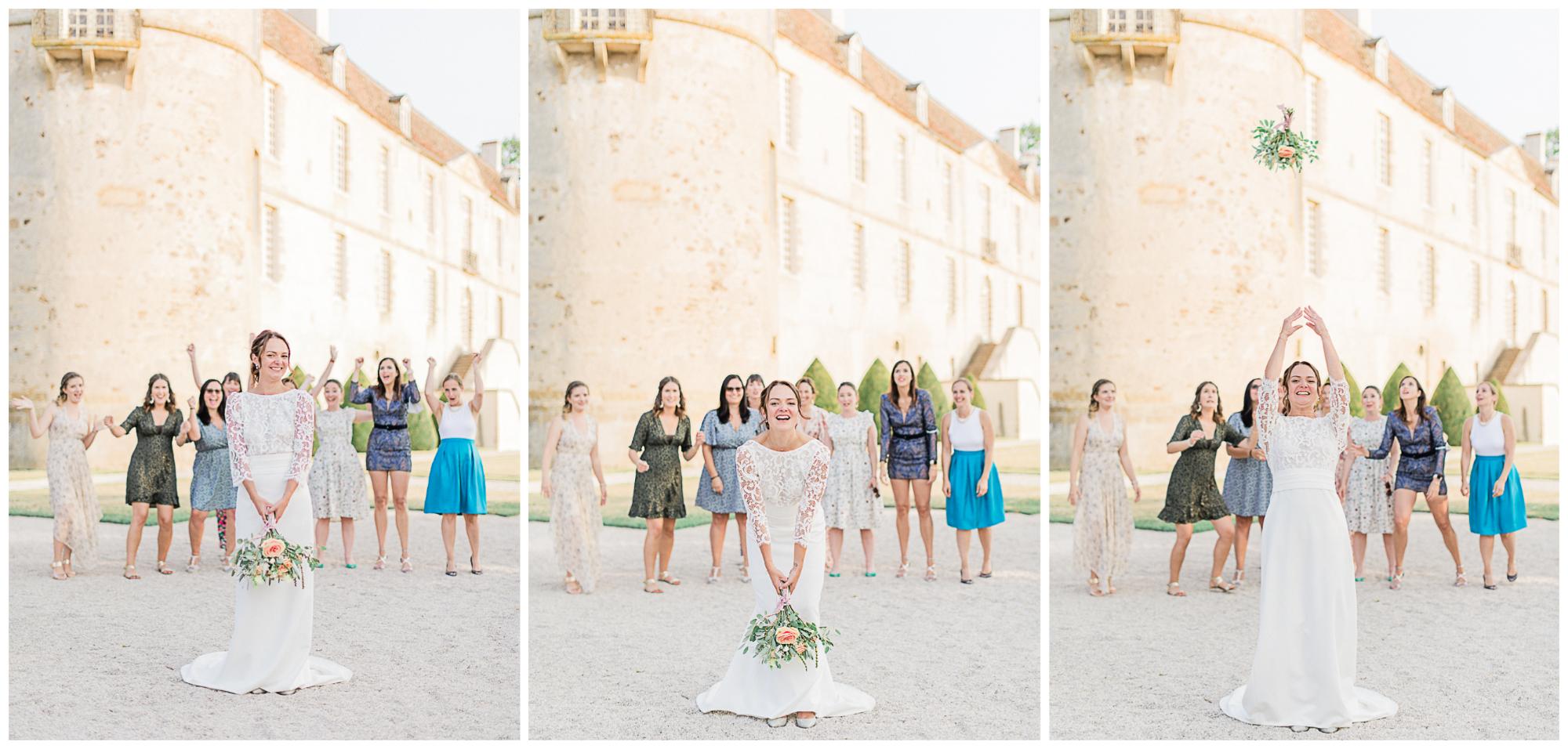 priscillapuzenat-photographe-mariage-bazoches-chateau-nievre-morvan-bourgogne-lancer-bouquet