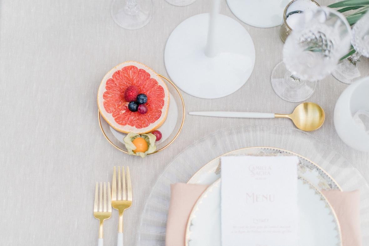 table mariage fine art