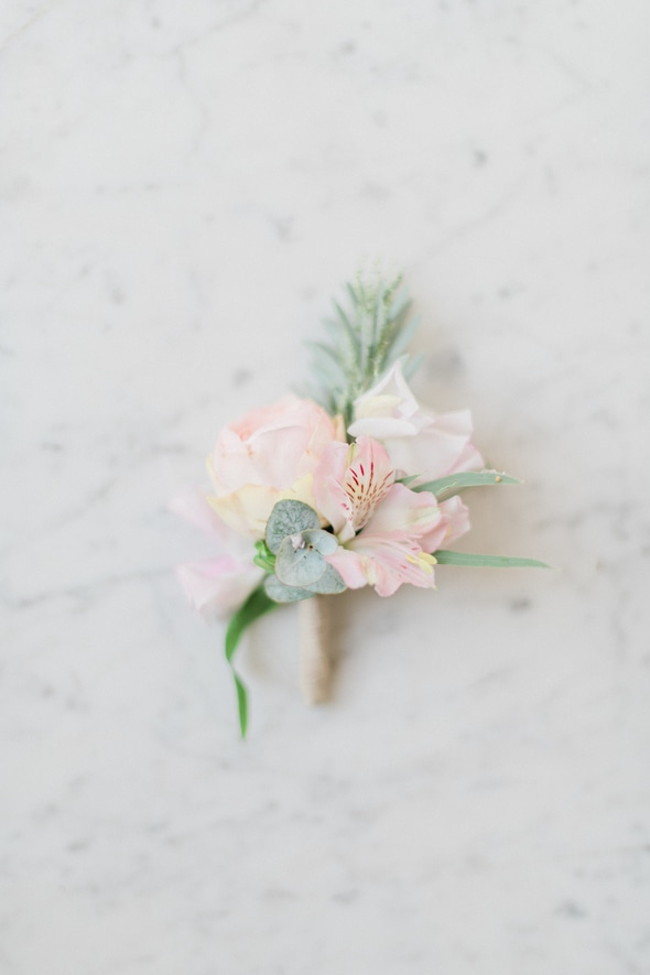 broche fleurs mariage