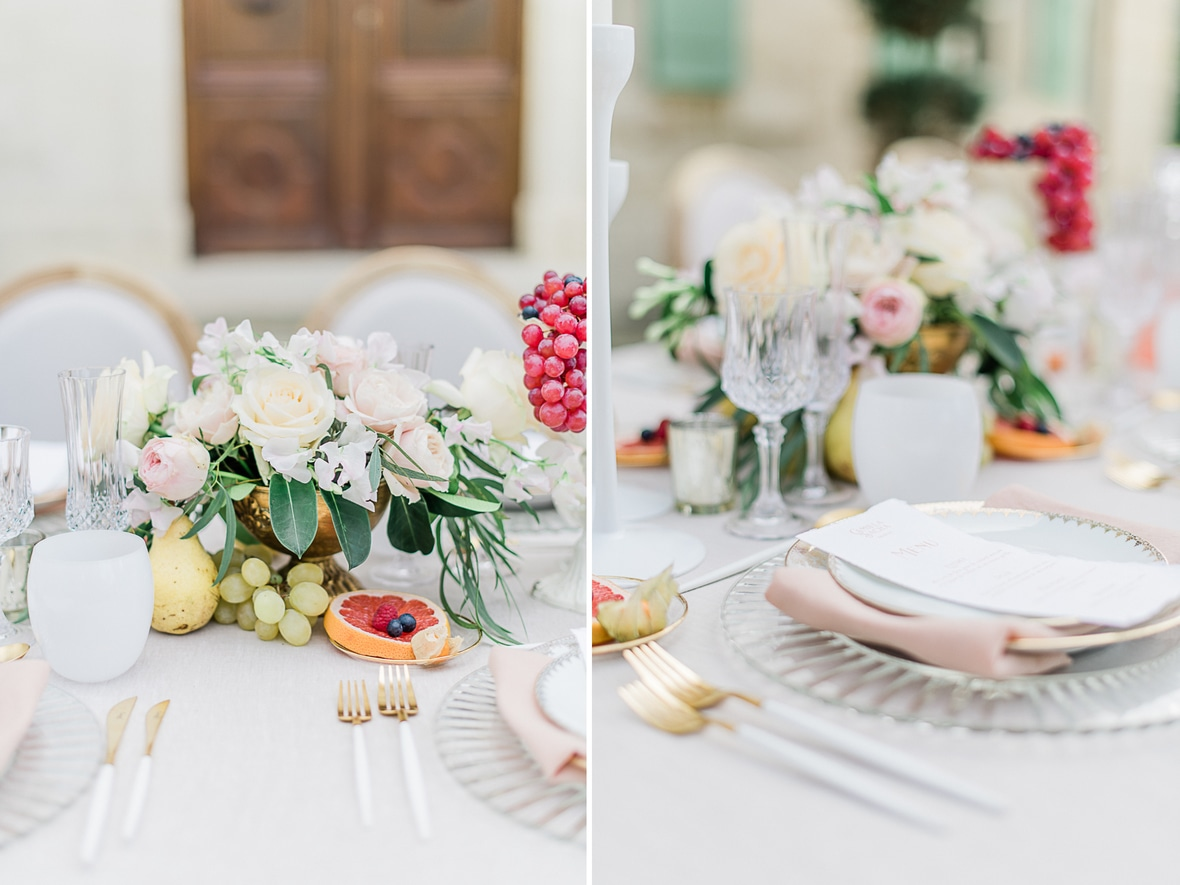 vaisselle mariage fine art