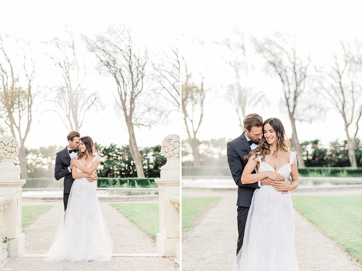 séance photo couple mariage château