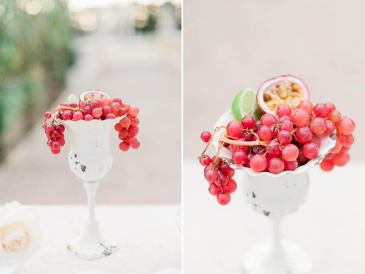 décoration dessert mariage