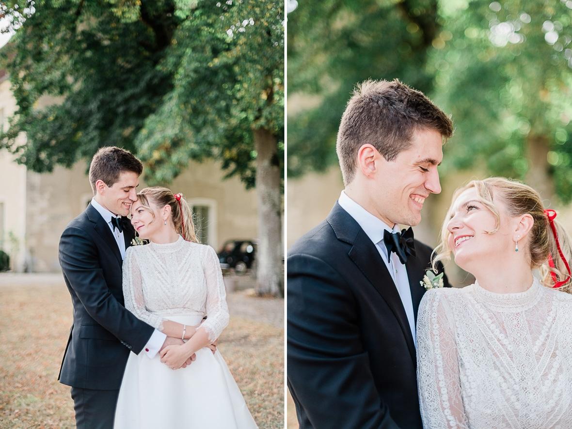 Mariage à l'Abbaye de Reigny en Bourgogne