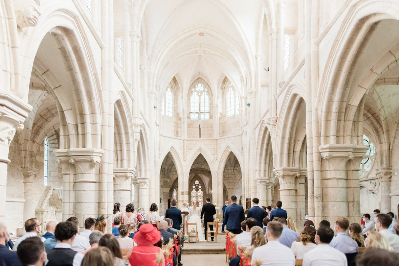 Cérémonie religieuse à Vézelay